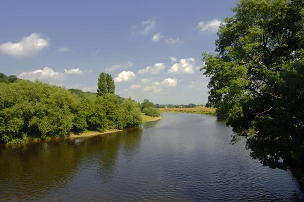 The River Wye on a sunny day