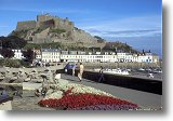 Mont Orgueil from St. Martin - Picture courtesy of www.britainonview.com