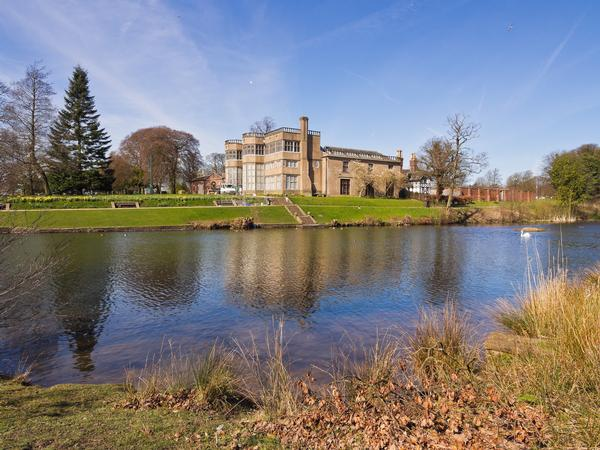 Astley Hall in Astley Park, Chorley, Greater Manchester