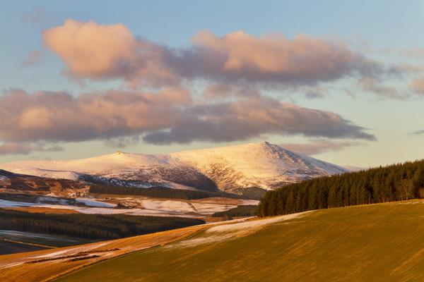 Ben Rinnes in Winter