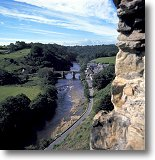 Richmond from the castle - Picture courtesy of www.britainonview.com