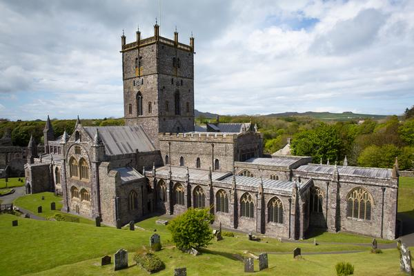 St Davids Cathedral in Pembrokeshire