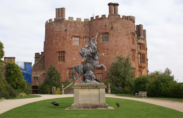 Powis Castle, Welshpool, Wales