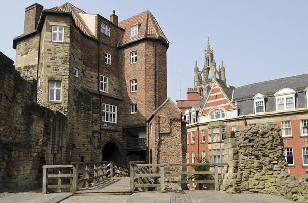 The 12th Century Castle in Newcastle Upon Tyne