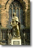 Statue of Lady Wulfrun, Wolverhampton - Picture courtesy of 