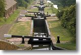 Black Country canal and locks - Picture courtesy of www.britainonview.com