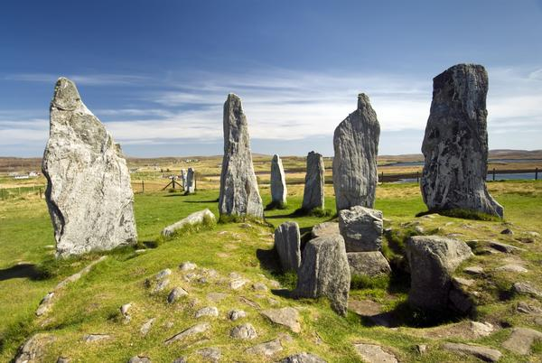 Callanish standing stone circle, Callanish, Isle of Lewis