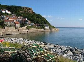 Crab & Lobster Cottage - View of Runswick Bay Village
