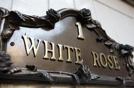 White Rose Cottage, Robin Hood's Bay - White Rose Cottage Front Door