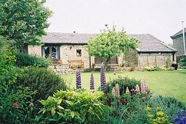 The Old Dairy - beautiful private garden with stunning views of the valley