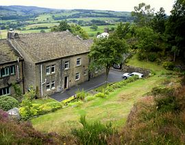 Cherry Tree Cottages - We are in a country location with easy access to all West Yorkshire towns