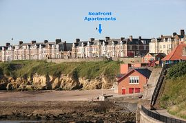 Seafront Apartments - Seafront Apartments from Cullercoats bay