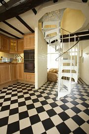 The Kitchen & Staircase