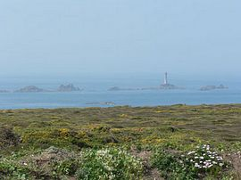 View of Longships Lighthouse