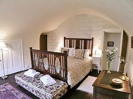 Master bedroom with domed ceiling