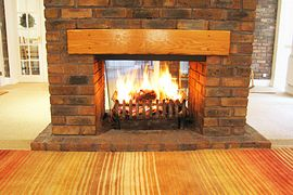 Double-sided Open Fireplace