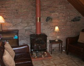 Living Room - Wood Burner