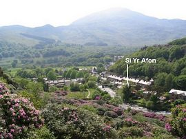 View of Si Yr Afon and Beddgelert