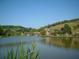 Malston Mill Farm - picture of Lake