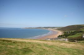 Putsborough Beach 500 yards