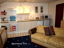 Apartment 5 - sleeps up to 4 persons.