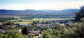 Glenthorne - Veiw over village