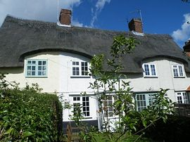 Wren Cottage + St Cedds - Front of the cottages