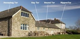 Holwell Dartmoor - Front Of Cottage