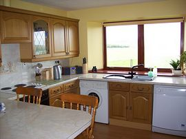 Glencairn Holiday Cottage - The kitchen
