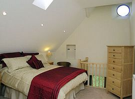 Bedroom of one of our cottages