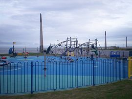 The new childrens drift park nearby