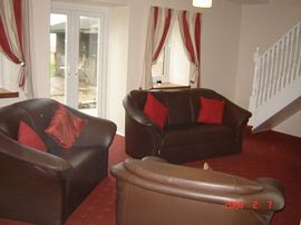 Portencross Holiday Cottage - Living room