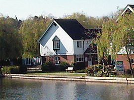 Wherry - View of cottage and river