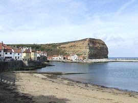 Staithes frontage