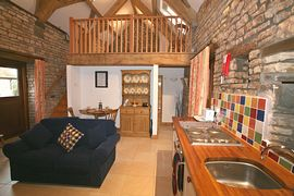 Whippletree Cottage - The living area