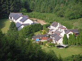 Badham Farm Holiday Cottages - aerial view