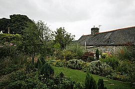 This is the rear cottage garden.