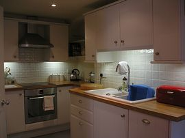 Fully equiped Dinning Kitchen.