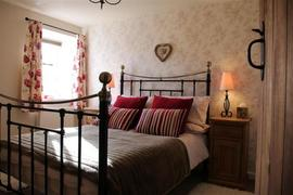 Double bedroom at Hill Top Cottage in Walden