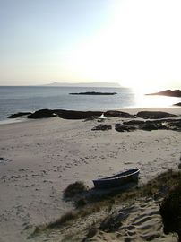 Morar Silver Sands, 5 minutes walk from cotta