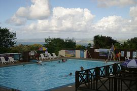 Seavalley Holiday Chalets - Outdoor Swimming Pool