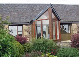 Burnbrae Holidays - Each cottage has its own conservatory