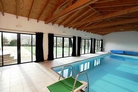 Craig Alvah Lodge - 10x4m heated indoor pool