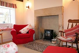 Stylish, comfortable lounge in Craigendale Cottage, Masham