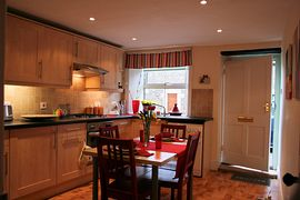Spacious kitchen in Craigendale Cottage, Masham