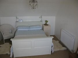 An upstairs bedroom