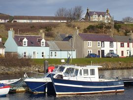 The Hoose - The Hoose on the Harbour at Helmsdale