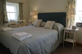 Double bedroom at Cowlingholme Cottage in Askrigg.