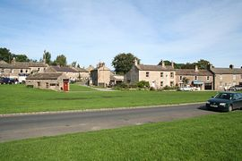 West Burton, acclaimed by many to be one of the most beautiful villages in England.