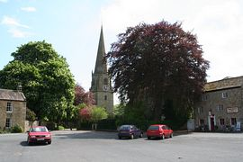 Small market town of Masham, a �Gateway to The Dales�.
